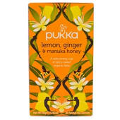 Lemon, Ginger & Manuka Honey