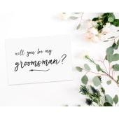 Will You Be My Groomsman