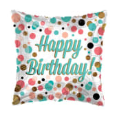Happy Birthday Square Dots