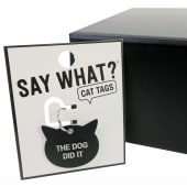 Cat Tag - The Dog Did It