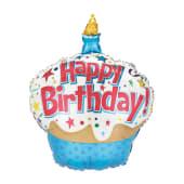 Happy Birthday Cupcake 90CM