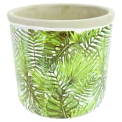 Monstera Palm Pot