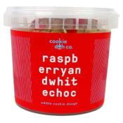 Rasp & White Choc Cookie Doh