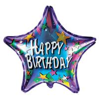 Happy Birthday - Stars