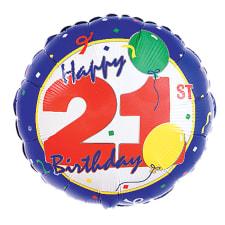 Happy Birthday - 21st - Standard
