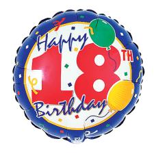 Happy Birthday - 18th - Standard