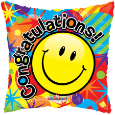Congratulations - Smiley - Standard