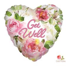 Get Well Soon - Heart - Standard