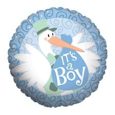 Stork - Baby Boy - Standard