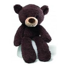 Fuzzy Chocolate Bear - Standard