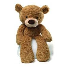 Fuzzy Beige Bear - Standard