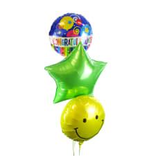 Congrats Balloon Bouquet - Standard