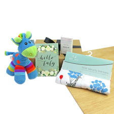 Jolly Giraffe - Blue