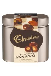 Scorched Almonds in Tin