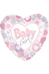 Baby Girl - Hearts