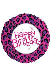 Happy Birthday - Animal Print