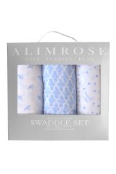 Alimrose Swaddle Set - Blue