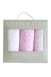 Alimrose Swaddle set - Pink