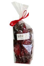 Dark Raspberry Brittle Bag