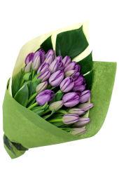 Mum's Day Purple Tulip Bunch