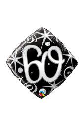 60 Black Diamond Shape