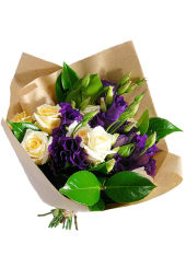 Roses and Lisianthus