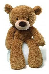 Fuzzy Beige Bear