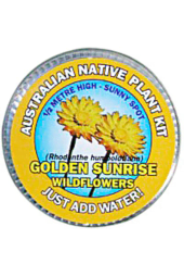Golden Wildflowers Seed Kit