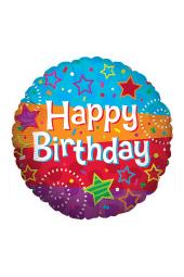 Happy Birthday - Stripes