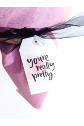 You're really pretty..