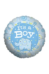 It's a Boy Zoobilee Balloon