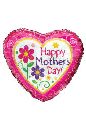 Happy Mothers Day - Heart