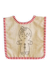 Vintage Gingerbread Bib