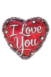 Heart shaped I Love You