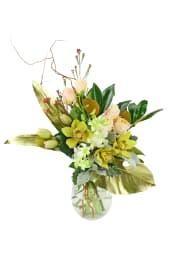 Gilded Vase