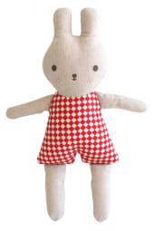 Bonny Bunny Rattle - Red