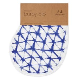 Silky soft burpy bib