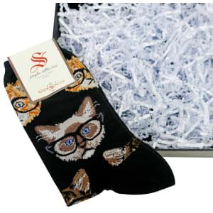 Womens Kitten Socks
