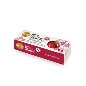 Raspberry White Chocolate Mini Melting Moments 50g