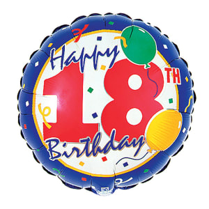 Happy Birthday - 18th - Standard