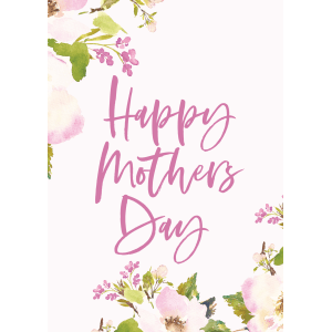 Happy Mothers Day Gift Card - Standard