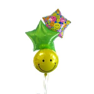 Smiley Balloon Bouquet - Standard