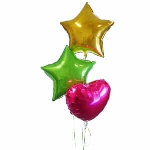 Bright Balloon Bouquet - Standard