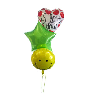 I Love You Smiley Bouquet - Standard