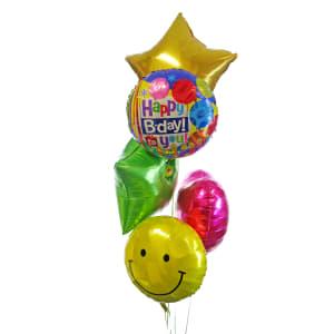 Deluxe Birthday Bouquet - Standard