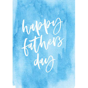 Happy Fathers Day Card - Standard