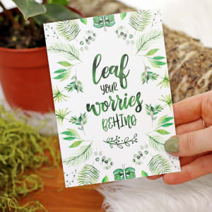Leaf Your Worries Behind - Standard