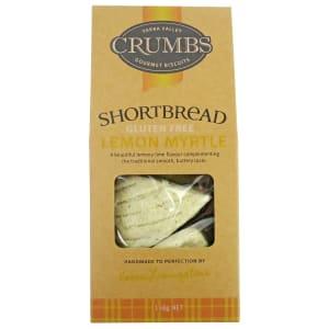 Lemon Myrtle Shortbread GF - Standard