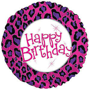 Happy Birthday - Animal Print