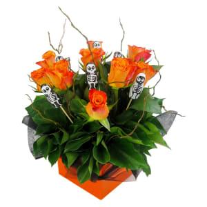 Skeleton Rose box